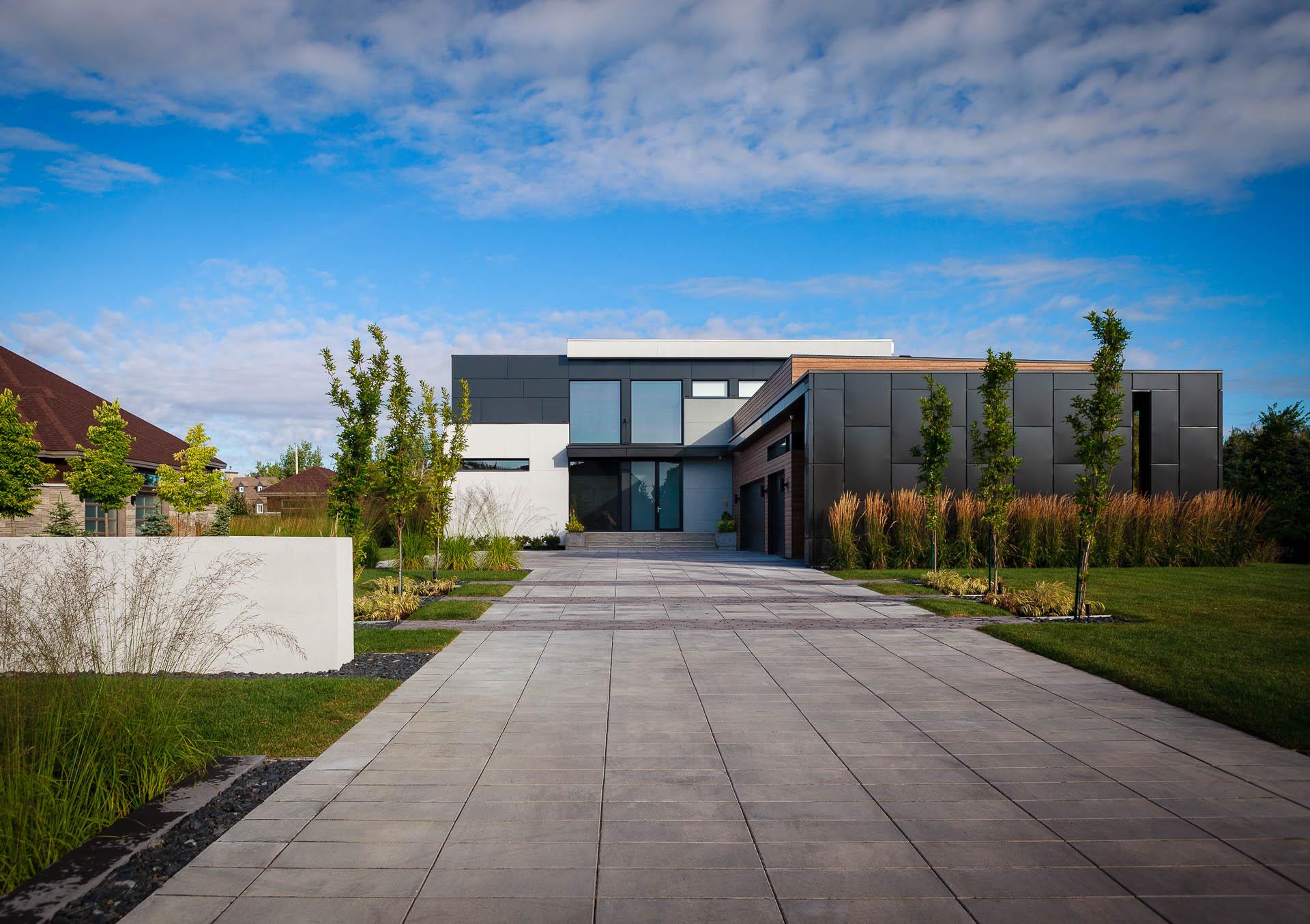 Résidence de Normandie Par Brainnüstudio Architecture + Design