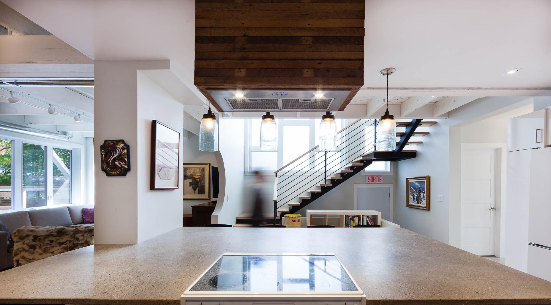 La givrée par Luc Plante Architecture + Design