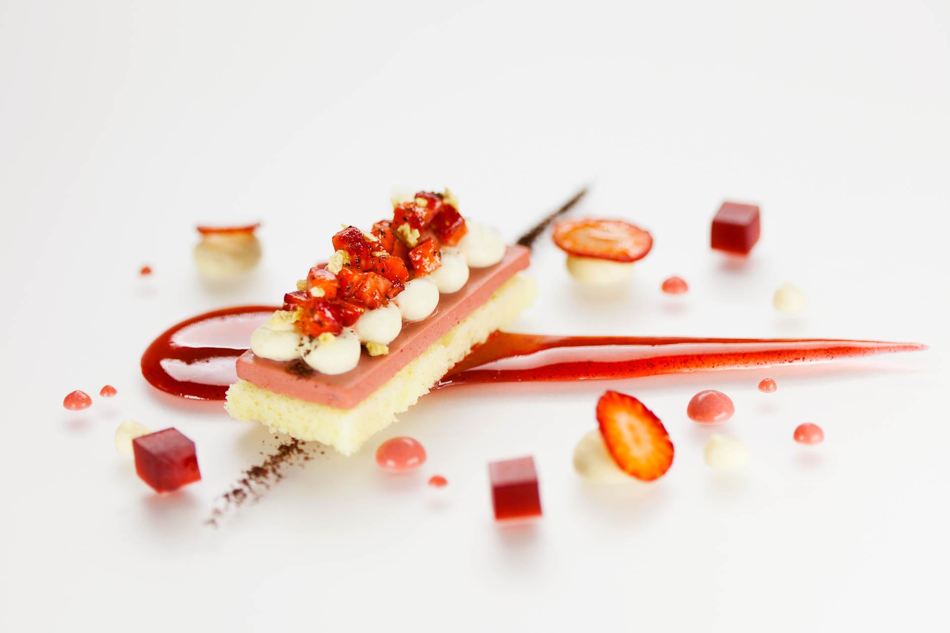 Shortcake printanier aux fraises par la chef Isabelle Sauriol