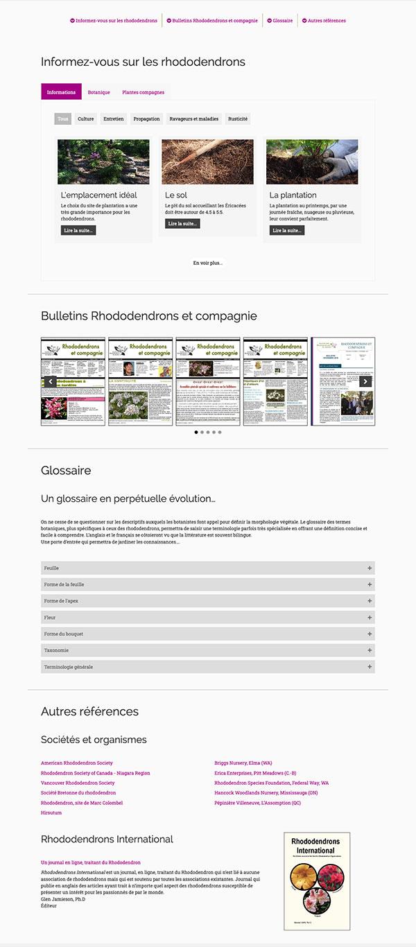La Société des rhododendrons du Québec - Gestion documentaire par Two Humans