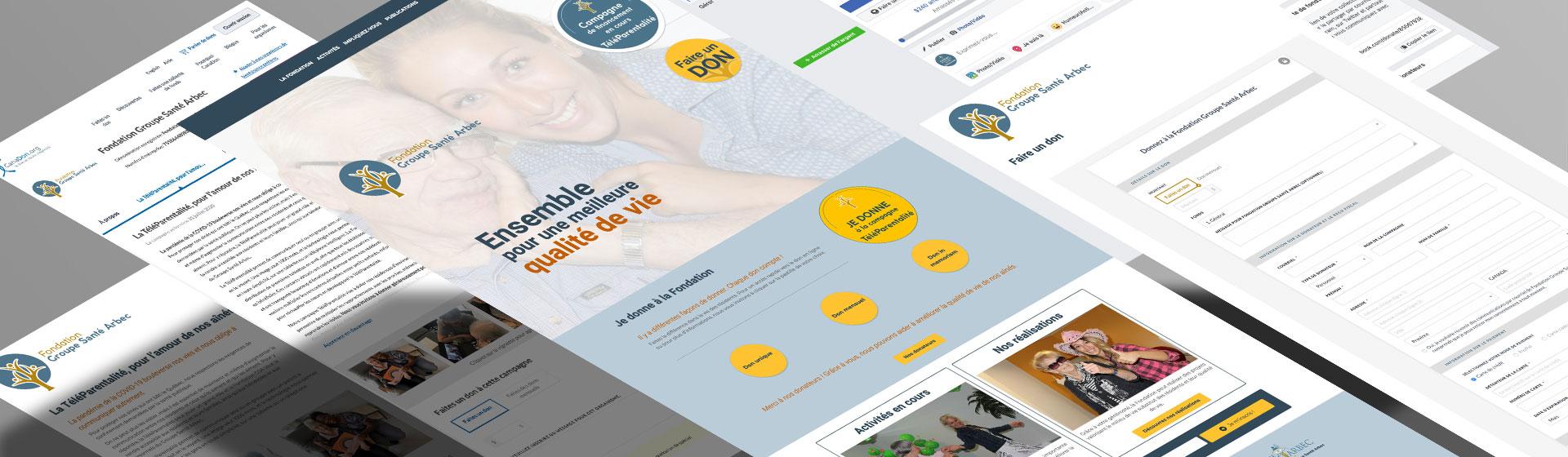 Fondation Groupe Santé Arbec par Two Humans
