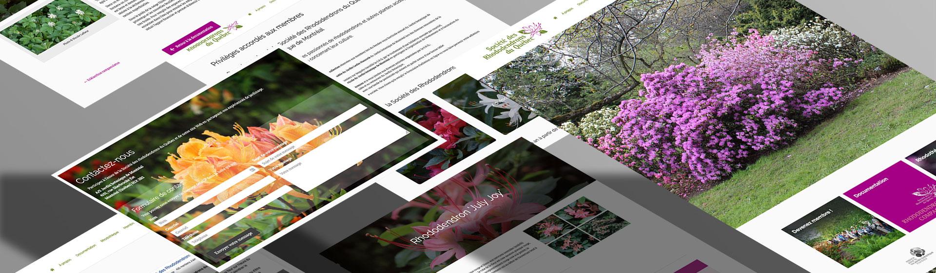 La Société des rhododendrons du Québec par Two Humans